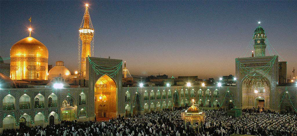 Imam Reza Holy Shrine Mashhad Iran Vipemo